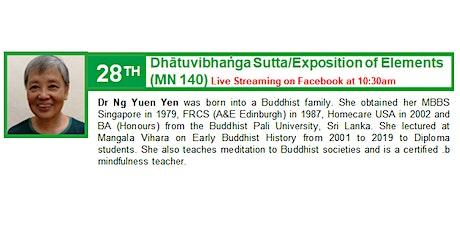 28 Feb Sunday Service:  Talk by Dr Ng Yuen Yen tickets