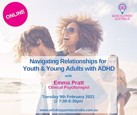 Emma Pratt:  Navigating Relationships for Youth and Young Adults with ADHD tickets