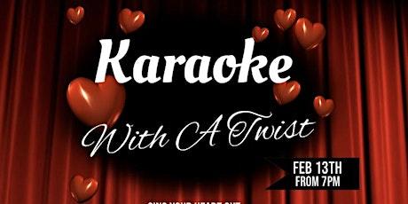 Karaoke With A Twist tickets