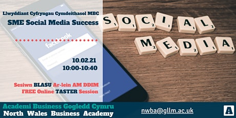 Social Media Marketing Taster tickets