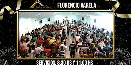 Iglesia del Puente Florencio Varela (Servicio de 8:30hs y 11:00hs) entradas