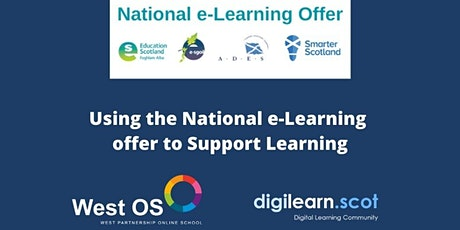 Using the National e-Learning Offer to Support Learning tickets