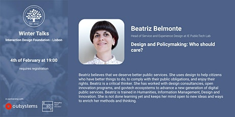 Winter Talks IDF - Beatriz Belmonte tickets