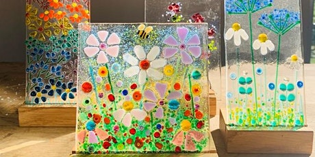 Fused Glass Floral Meadow Workshop tickets