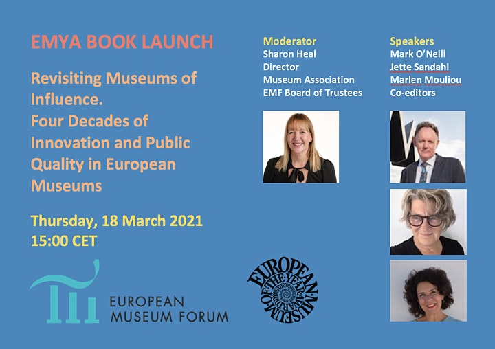 EMYA Book Launch: Revisiting Museums of Influence image