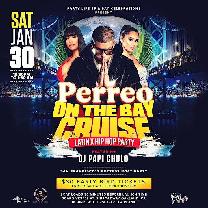 Perreo on the Bay Cruise (latin x hip hop) image