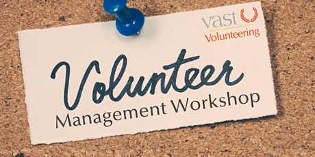 Volunteer Management Workshop - Barriers to Volunteering tickets
