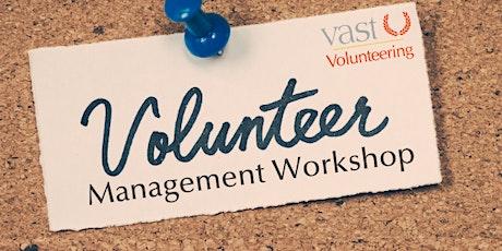 Volunteer Management Workshop - Barriers to Volunteering tickets
