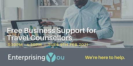 EnterprisingYou: Free Business Support for Travel Counsellors tickets