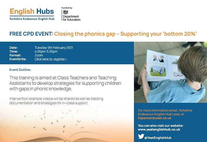 Closing the Phonics Gaps - Supporting your Bottom 20% - RWI & L&S image