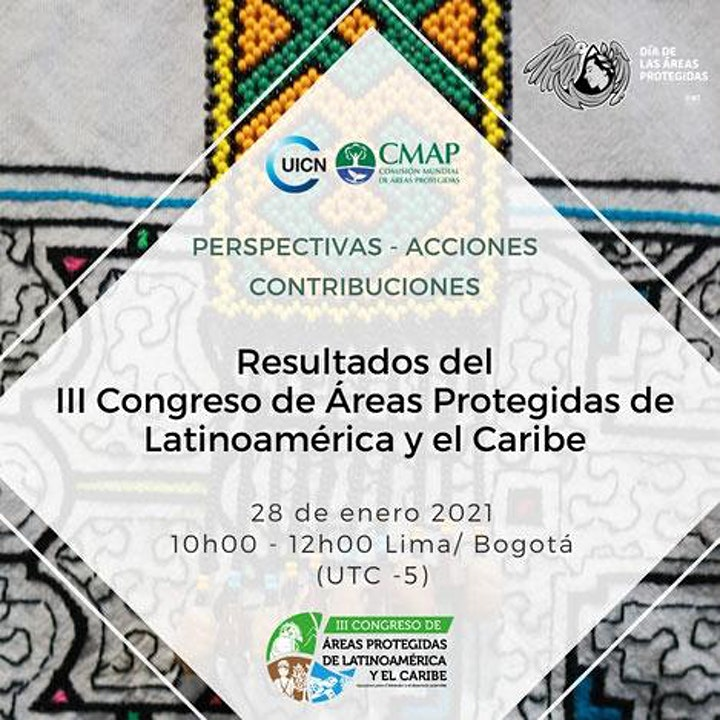 Outputs of the III Latin American and Caribbean Protected Areas Congress image