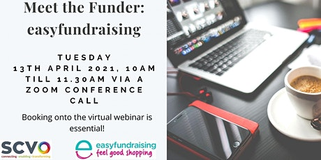 FREE Virtual Meet The Funder: easyfundraising tickets