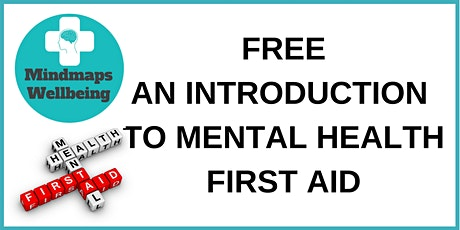 An Introduction To Mental Health First Aid In The Workplace tickets