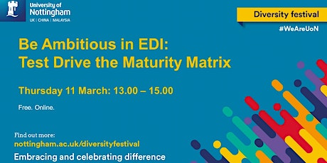 Be Ambitious in EDI: Test Drive the Maturity Matrix tickets