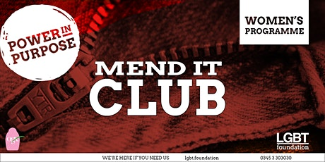 Mend it Club February - Customising Clothes tickets