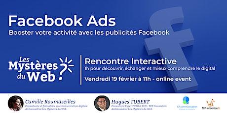 Facebook Ads, boostez votre activité avec les publicités Facebook| LMDW billets