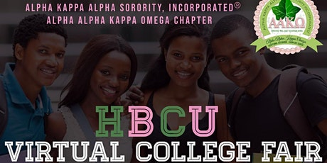 Alpha Alpha Kappa Omega Chapter Virtual HBCU Colle tickets