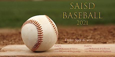 2021 SAISD BASEBALL @ SPORTS COMPLEX - Game #16 tickets