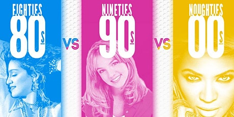 80's , 90's & 00's Online Dance Party tickets