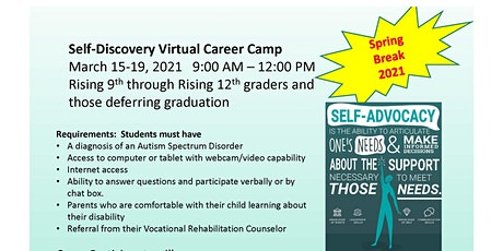 Self-Discovery Virtual Career Camp | #3517 tickets