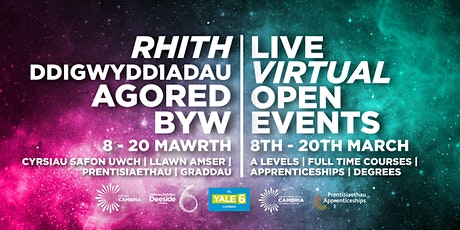 Coleg Cambria Apprenticeships at Yale tickets