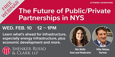 The Future of Public/Private Partnerships in New York State tickets