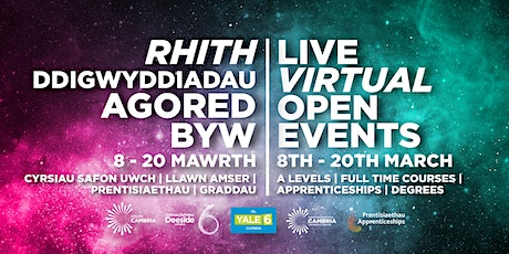 Coleg Cambria Apprenticeships at Llysfasi tickets