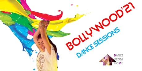 BOLLYWOOD DANCERCISE - MORNING Dance Class (DANCE FROM HOME) tickets