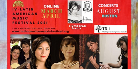 Latin American Music - APRIL CONCERTS tickets