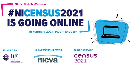 SKILLS MATCH WEBINAR | Completing the 2021 Census online tickets