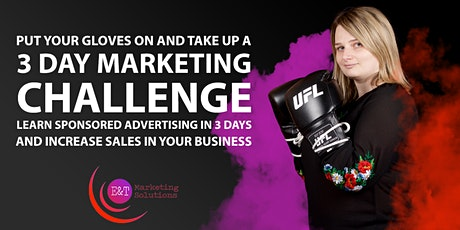 Learn sponsored advertising in 3 days and increase sales in your business. tickets