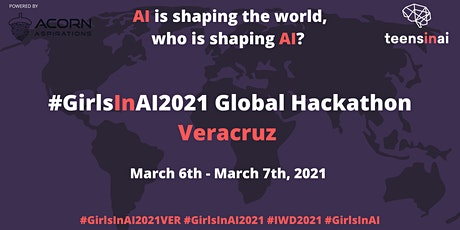 #GirlsInAI2021 Hackathon – Veracruz tickets