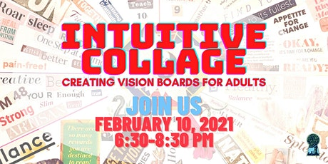 Intuitive Collage – Creating Vision Boards for Adults tickets