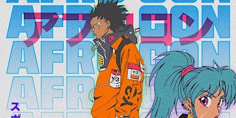 AFRO- CON ; Anime & Hip Hop tickets