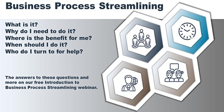 Introduction to Business Process Streamlining tickets