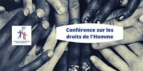 Conférence sur les droits de Humains billets