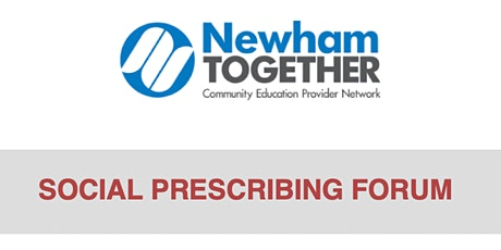 Newham Together Social Prescribing Forum tickets