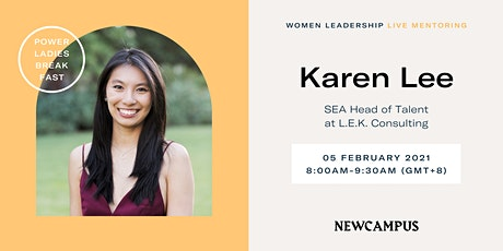 Virtual Mentoring | Power Ladies Breakfast with Karen Lee tickets