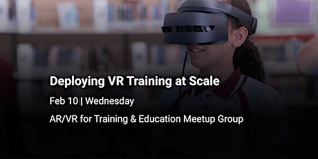 Deploying VR Training at Scale tickets