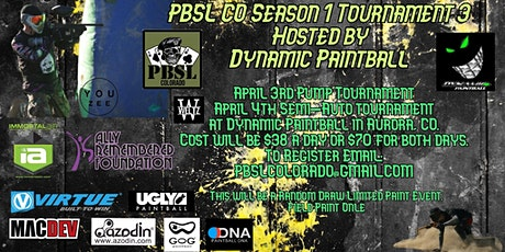 PBSL Colorado Season 1 Event 3 tickets