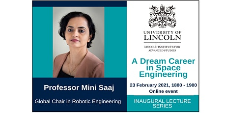 Inaugural Lecture: Professor Mini Saaj tickets