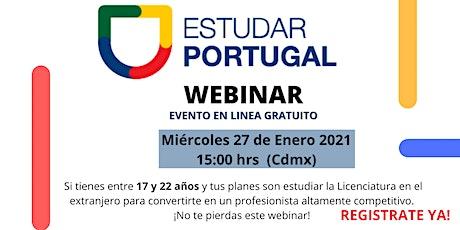 Estudiar la Licenciatura en Portugal tickets