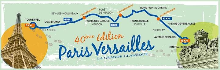 Imagem do evento Paris - Versailles 16k  2021 - Registration