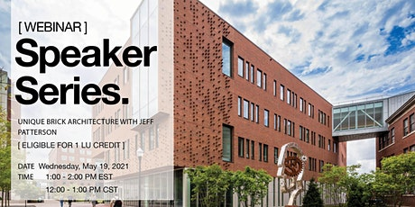 Glen-Gery Seminar: Unique Brick Architecture tickets