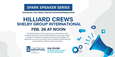 Spark Speaker Series: Hilliard Crews tickets