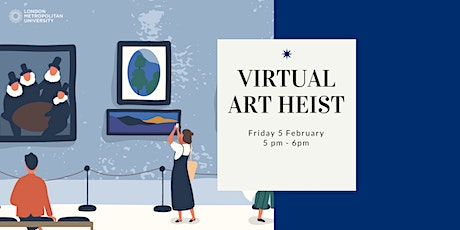 Art Heist - Virtual Escape Room tickets