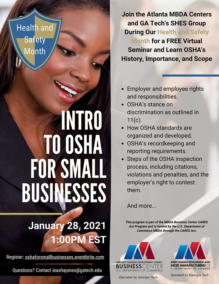 Intro to OSHA for Small Businesses image