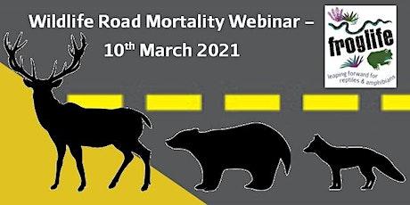 Wildlife Mortality on Roads Webinar tickets