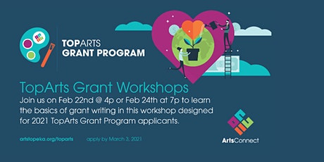 TopArts Grant Workshops tickets