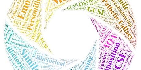 GCSE English Language Masterclass Exam Booster tickets